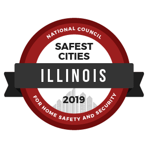 2019 Top 10 Safest City in Illinois