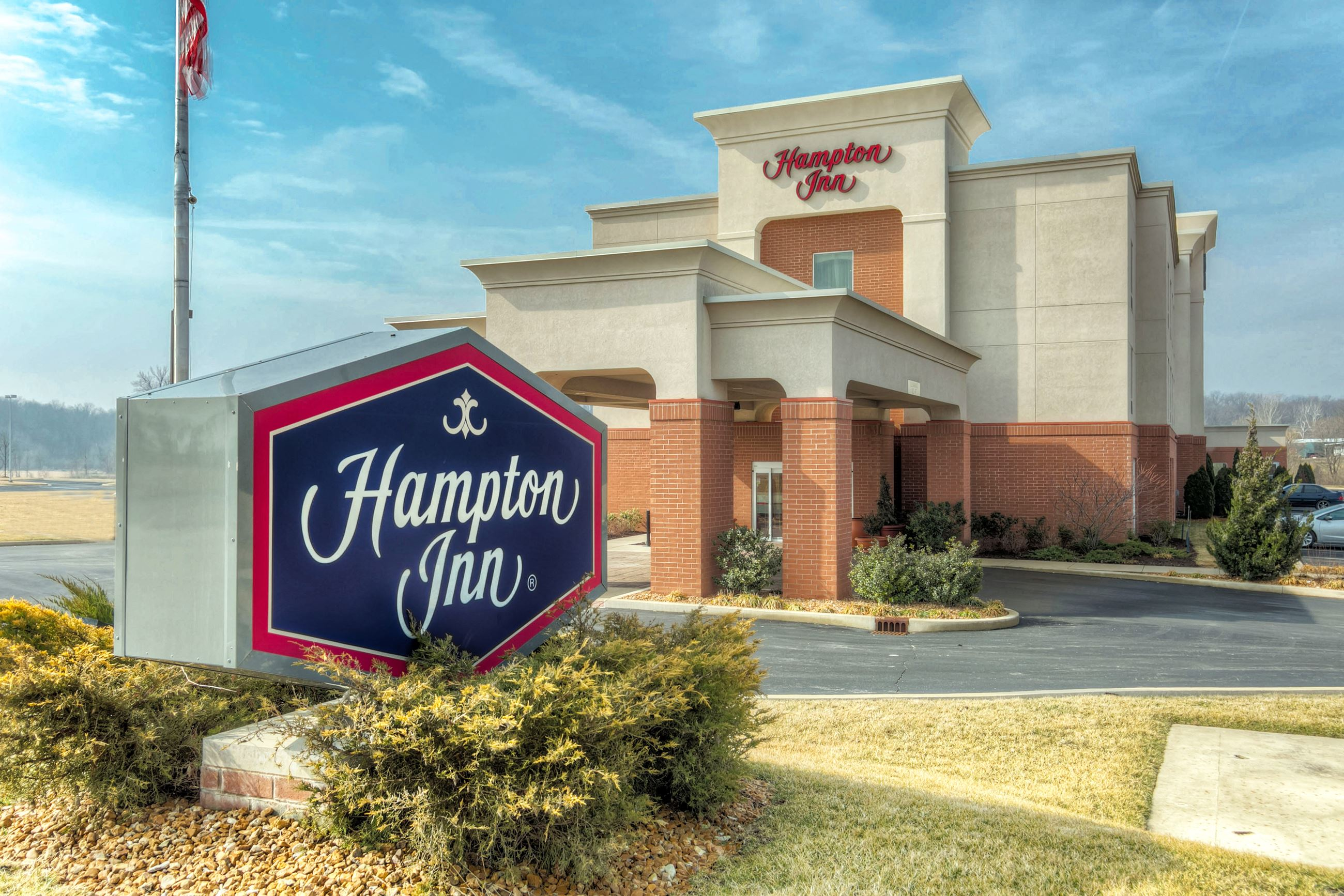 Hampton Inn Front - use this one 2016