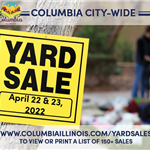 City Wide Yard Sale Event Flyer