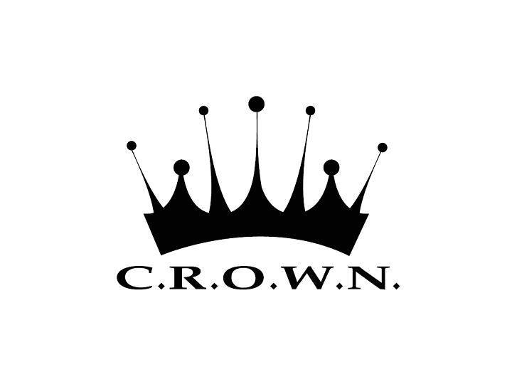 CROWN logo - black white